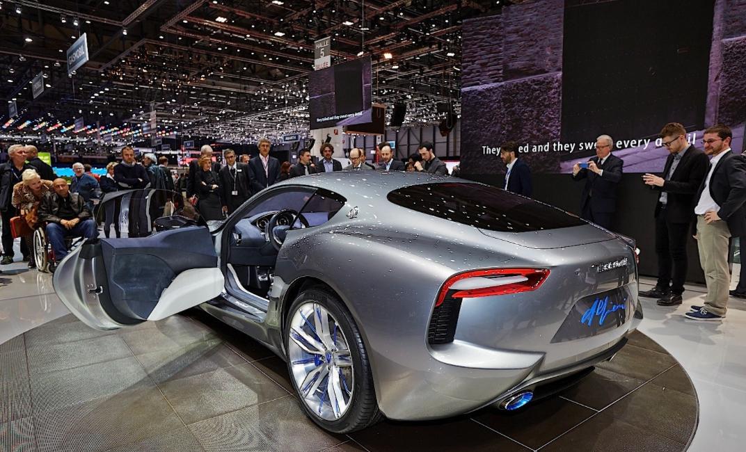 2022 Maserati Alfieri Engine