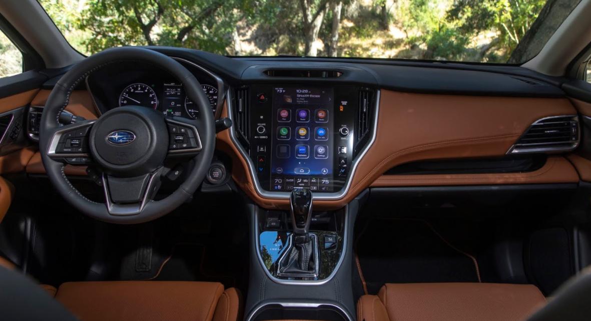 2022 Subaru Legacy Interior