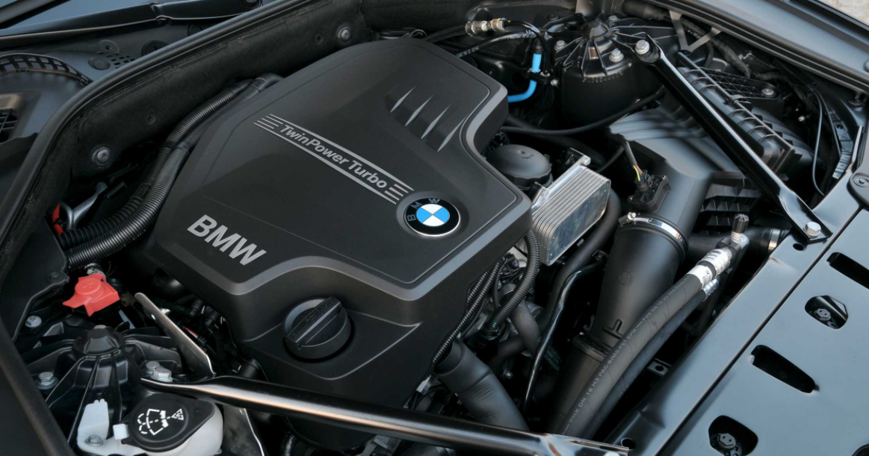 2022 BMW 5 Engine