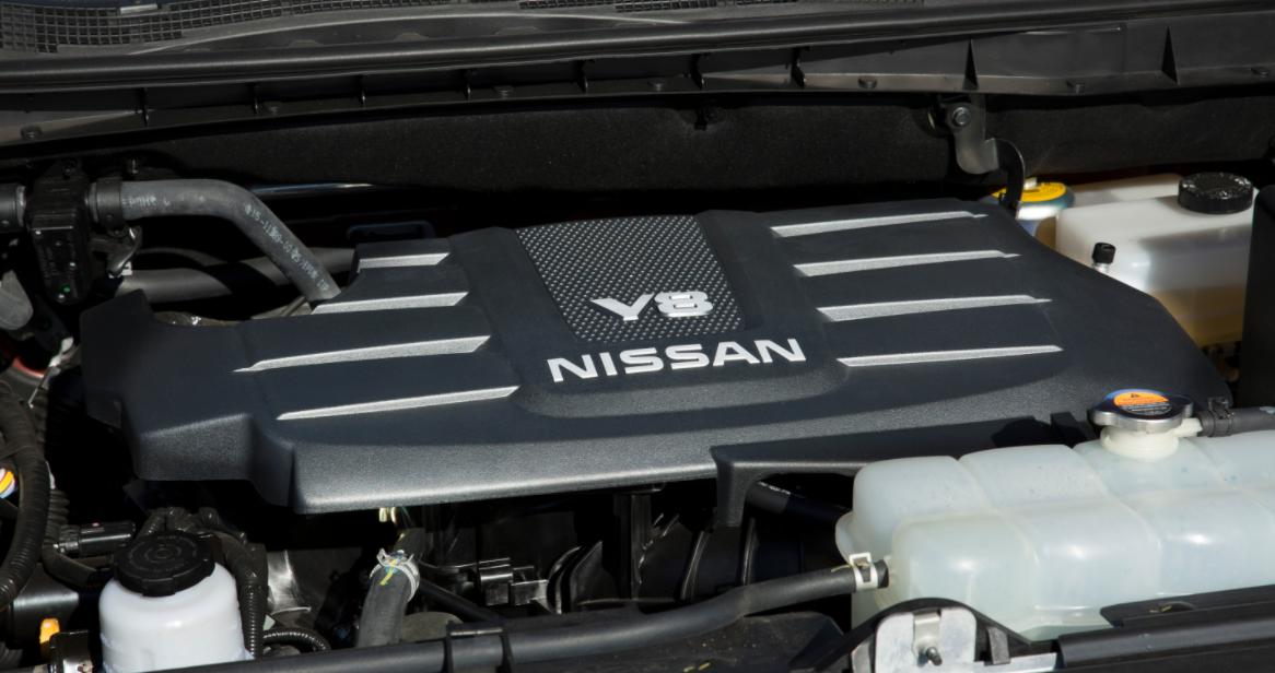 2023 Nissan Titan Engine