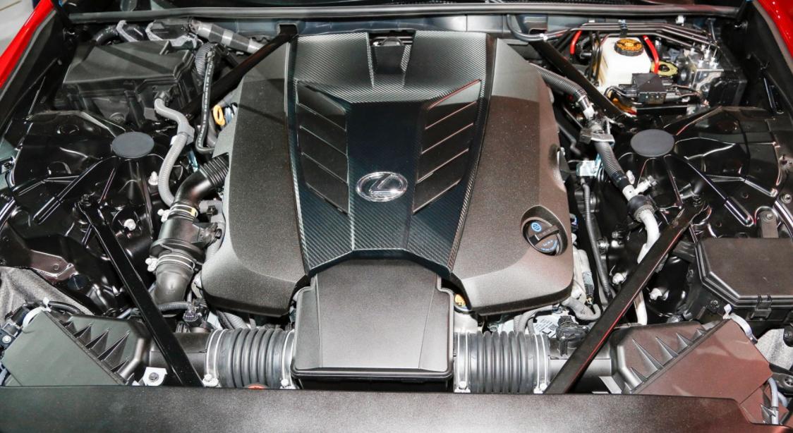 2023 Lexus LS 500 Engine
