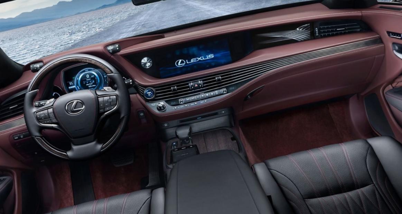 2023 Lexus LS 500 Interior