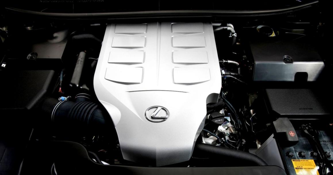 2023 Lexus LX Engine