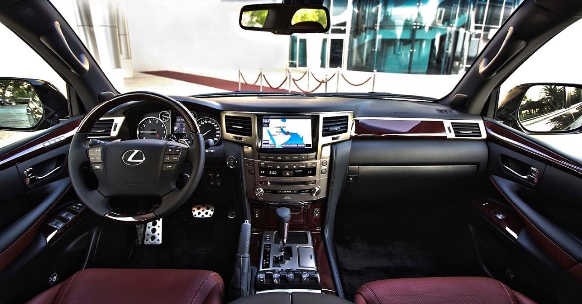 2023 Lexus LX Interior