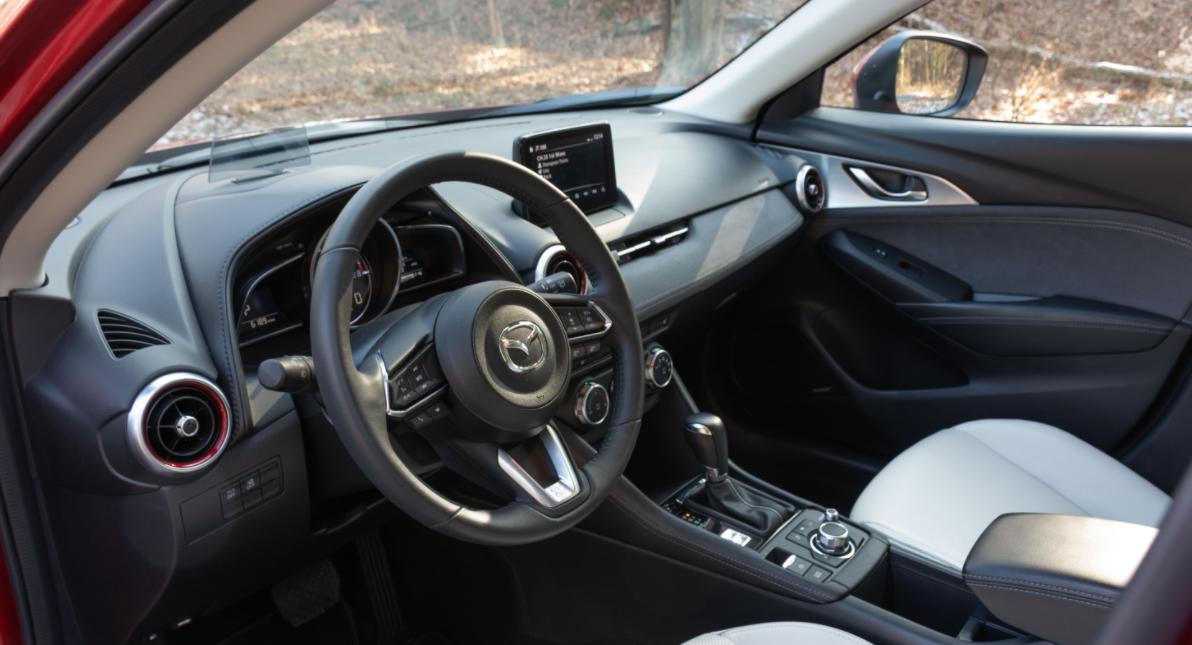 2023 Mazda CX3 Interior