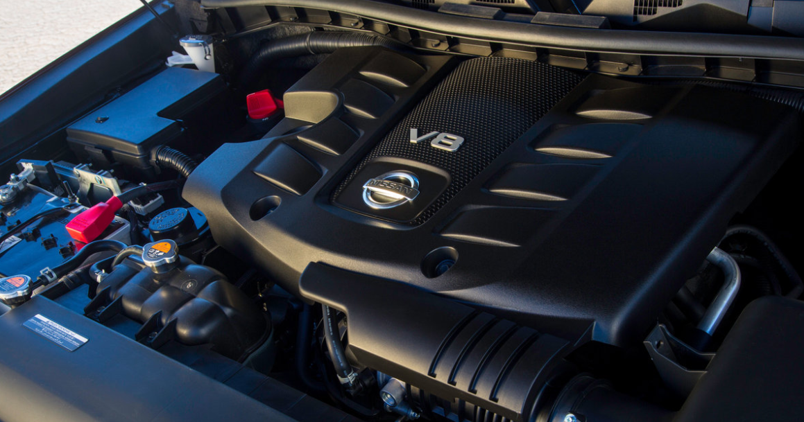 2023 Nissan Armada Engine