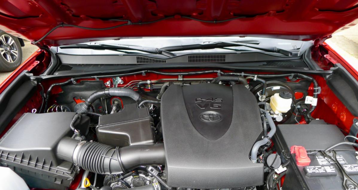 2023 Toyota Tacoma Engine
