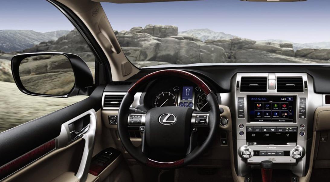 Lexus GX 2023 Interior