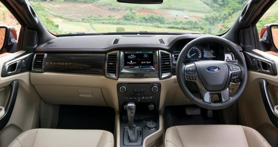 2023 Ford Everest Interior
