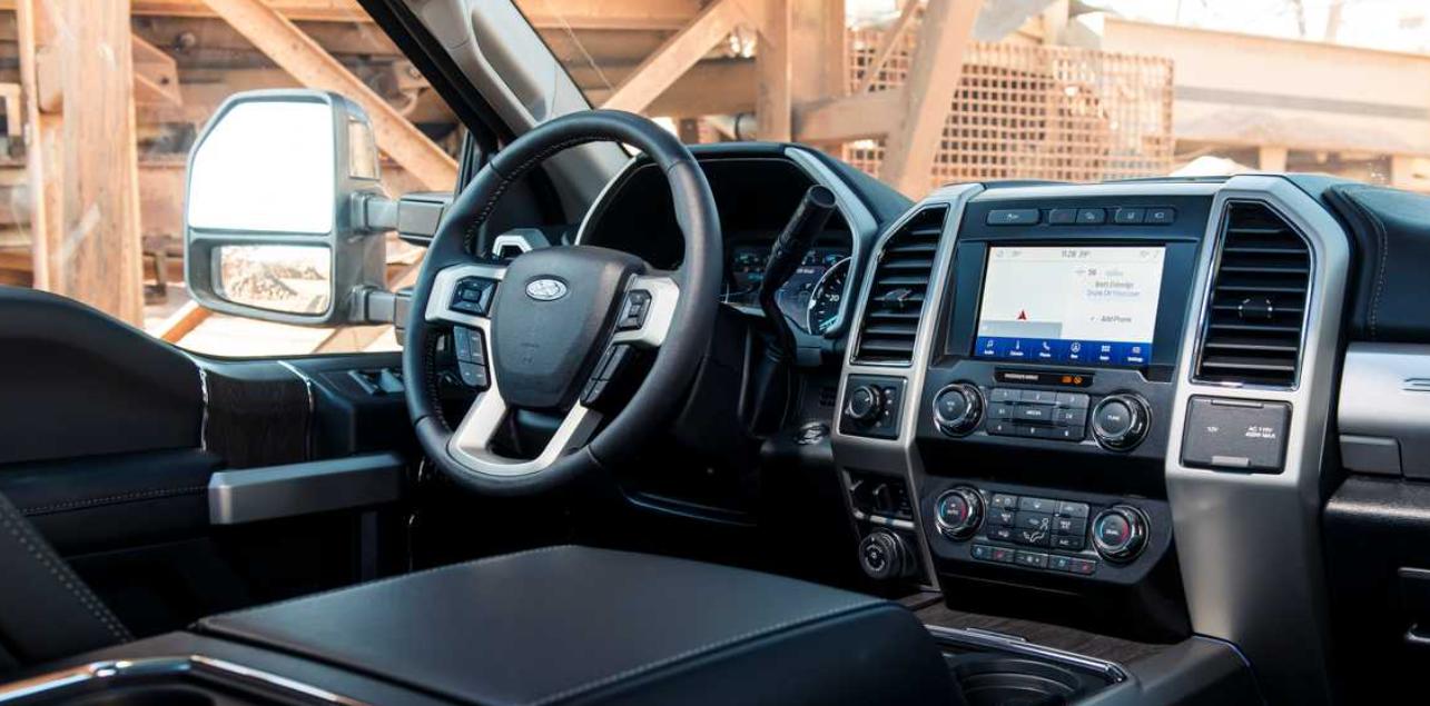 2023 Ford F 250 Interior