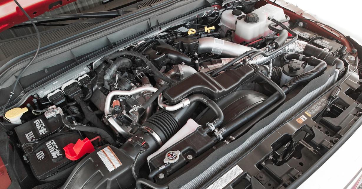 2023 Ford F350 Engine