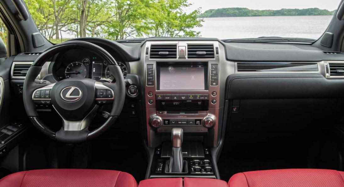 2023 Lexus GX Interior