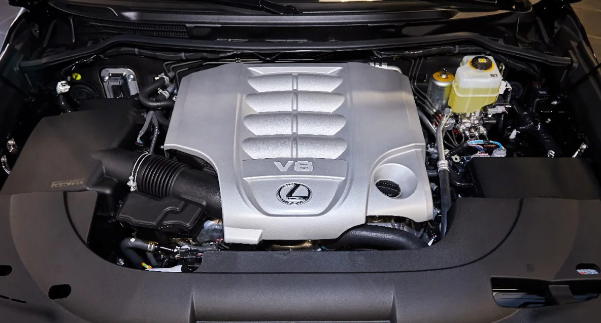 2023 Lexus LX 600 Engine