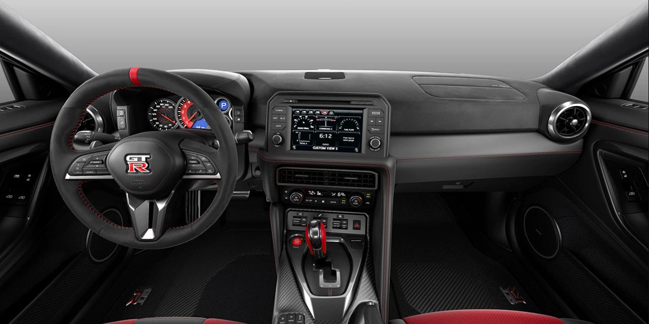 2023 Nissan GTR Interior
