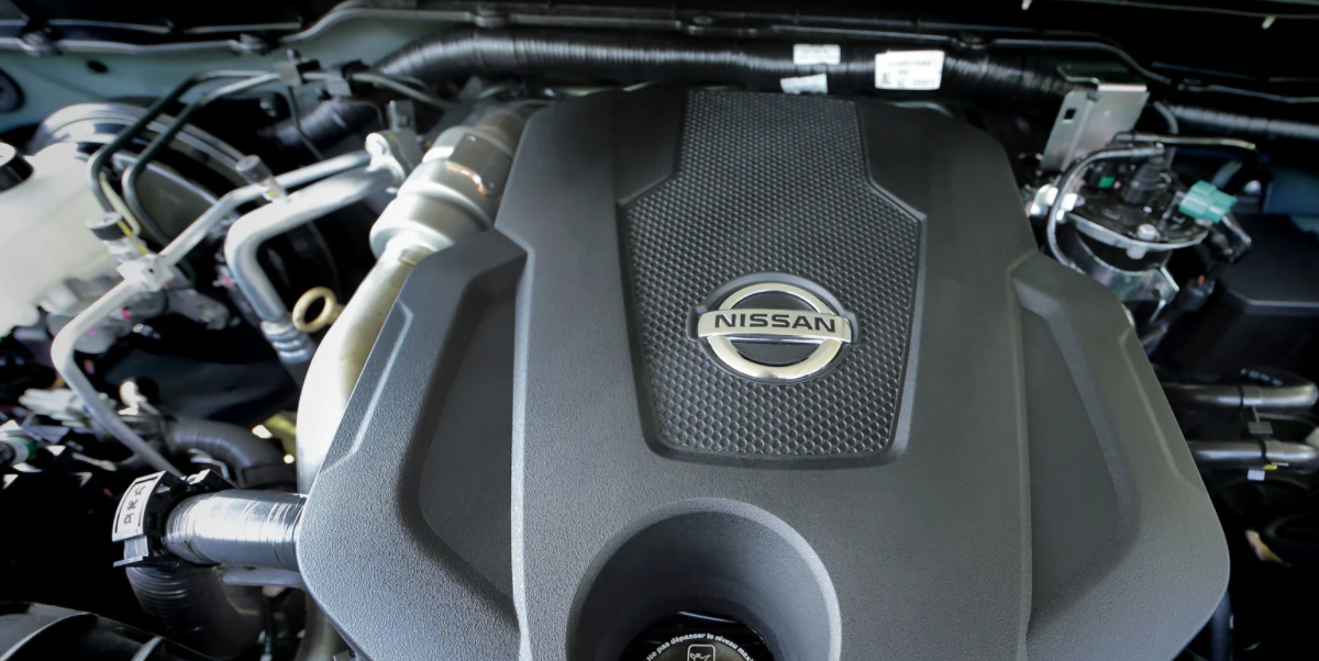 2023 Nissan Navara Engine