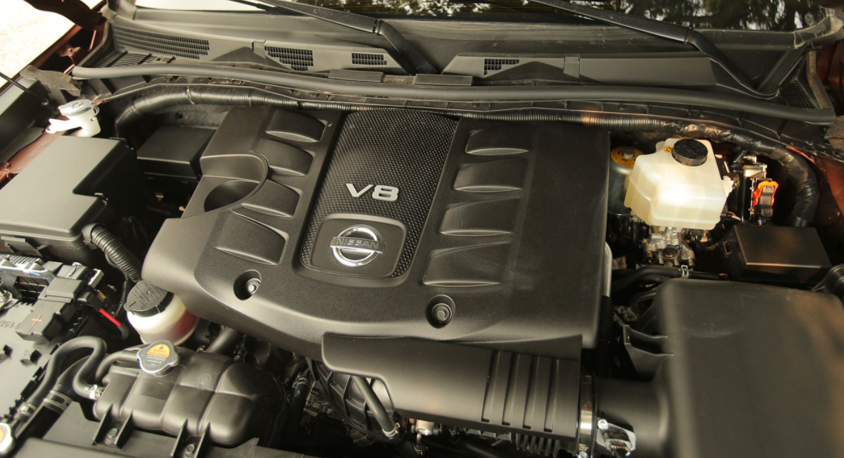2023 Nissan Patrol Engine