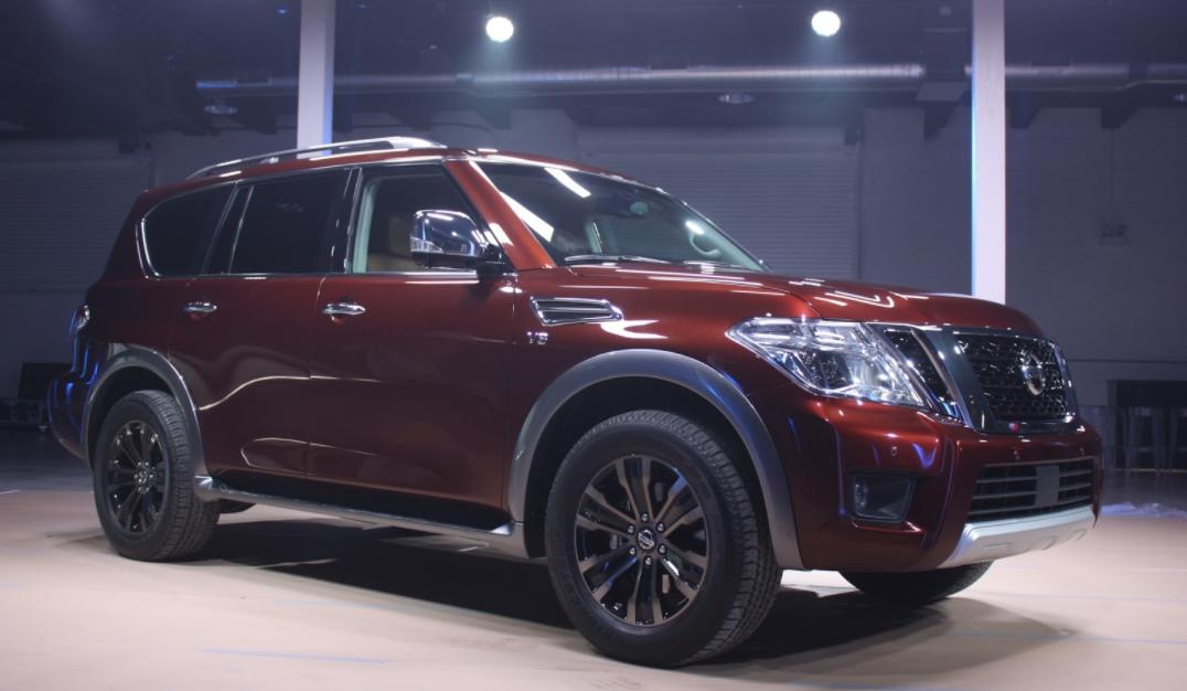 2023 Nissan Patrol Exterior