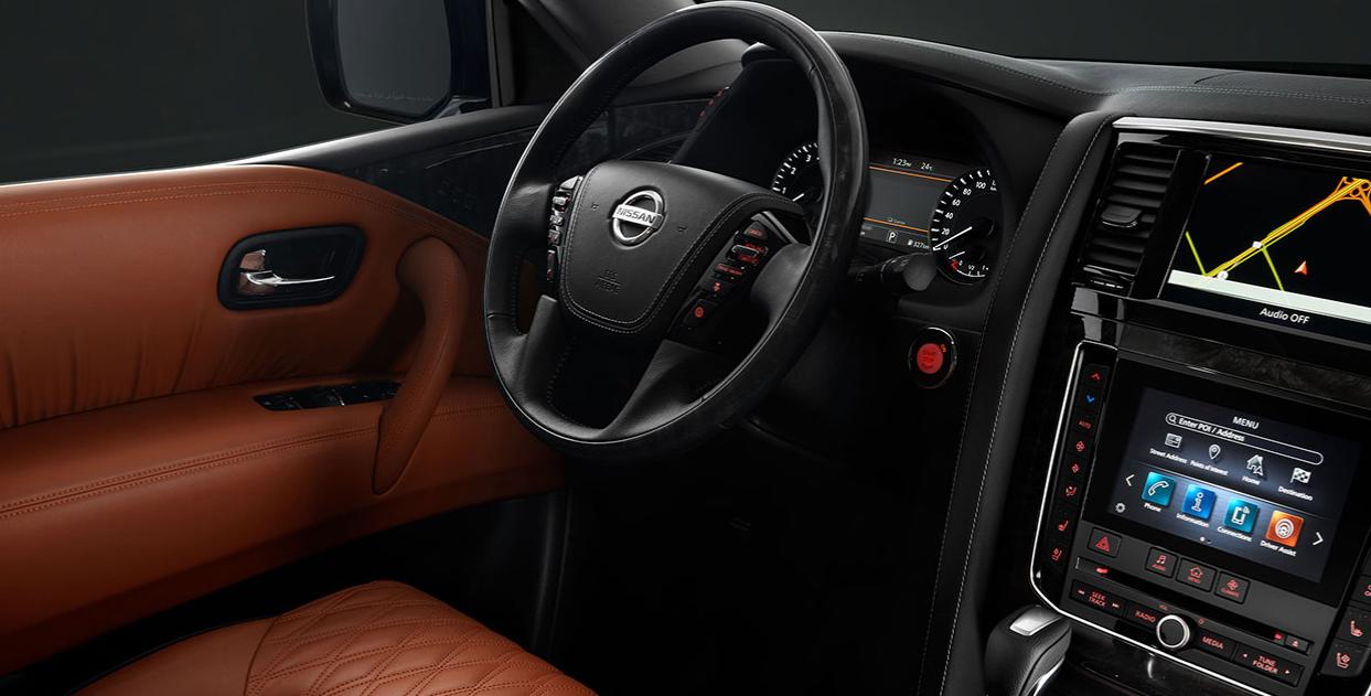 2023 Nissan Patrol Interior