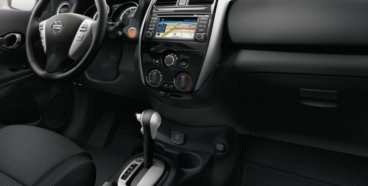 2023 Nissan Versa Interior
