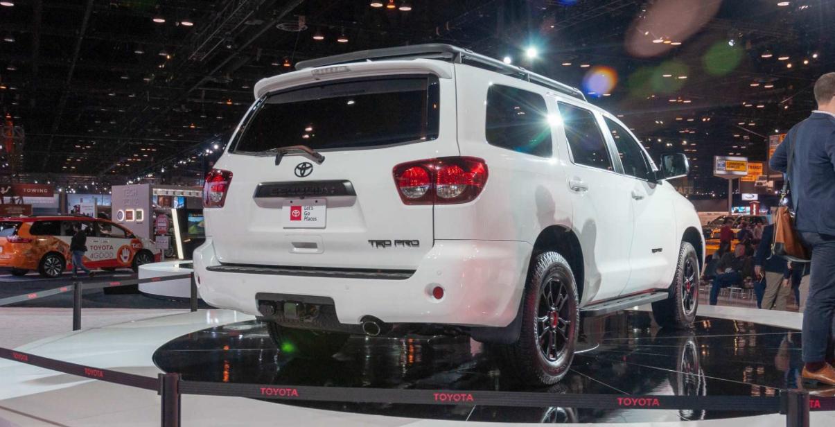 2023 Toyota Sequoia Engine