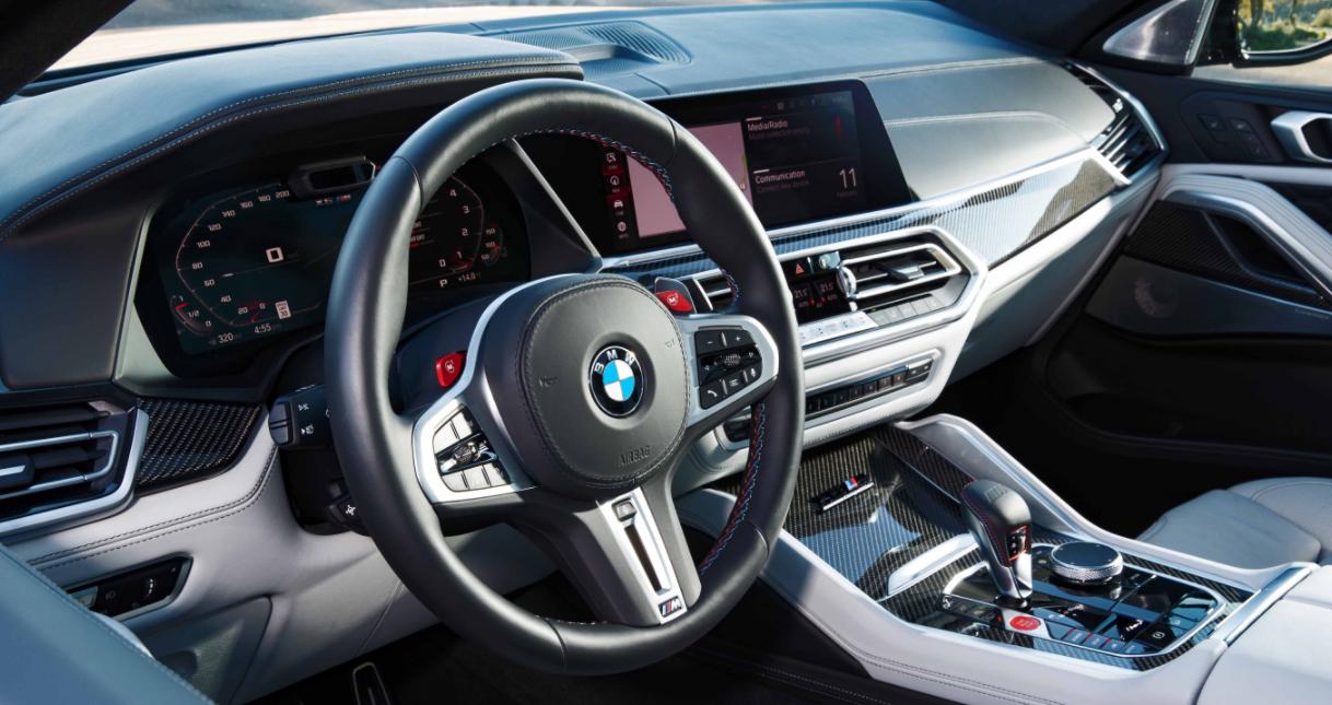 2023 BMW X6 Hybrid Interior