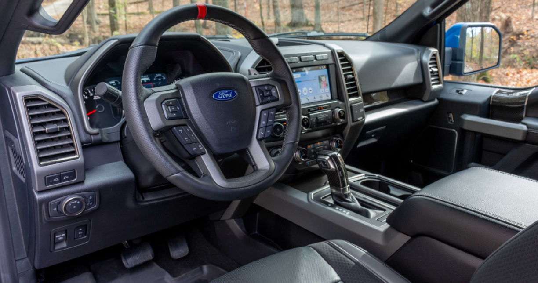 2023 Ford Raptor Interior