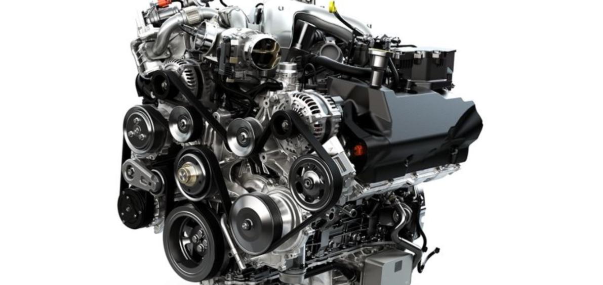 2023 Ford Super Duty Engine