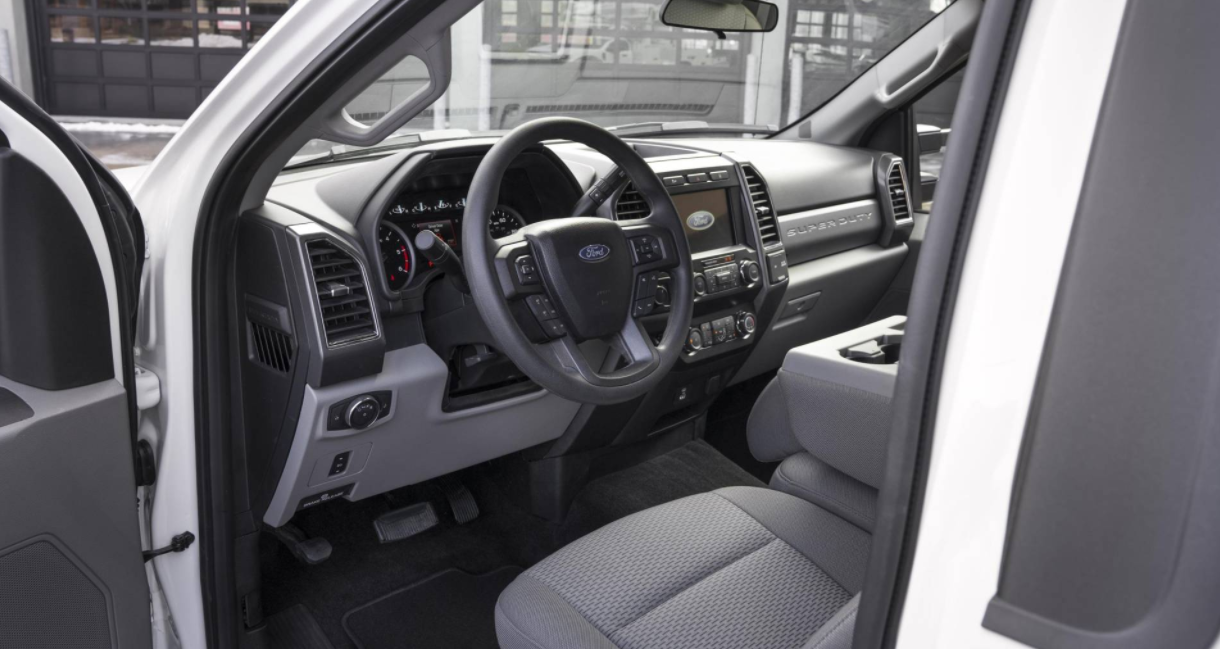 2023 Ford Super Duty Interior
