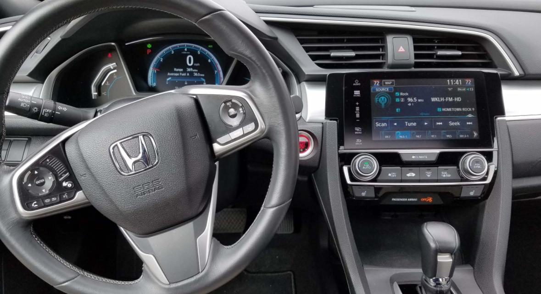 2023 Honda Civic Coupe Interior