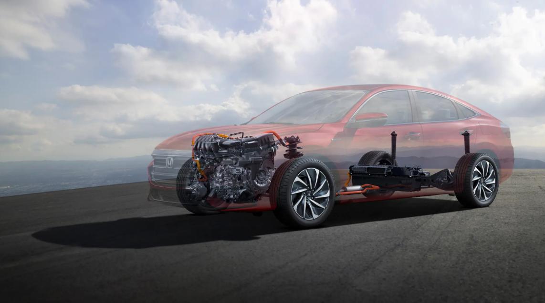 2023 Honda Insight Engine