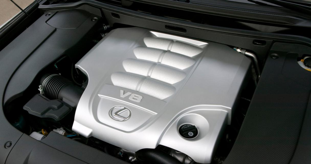 2023 Lexus LX 570 Engine