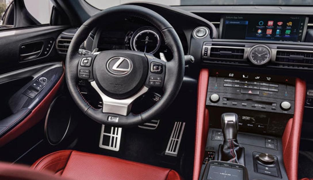 2023 Lexus RC Interior
