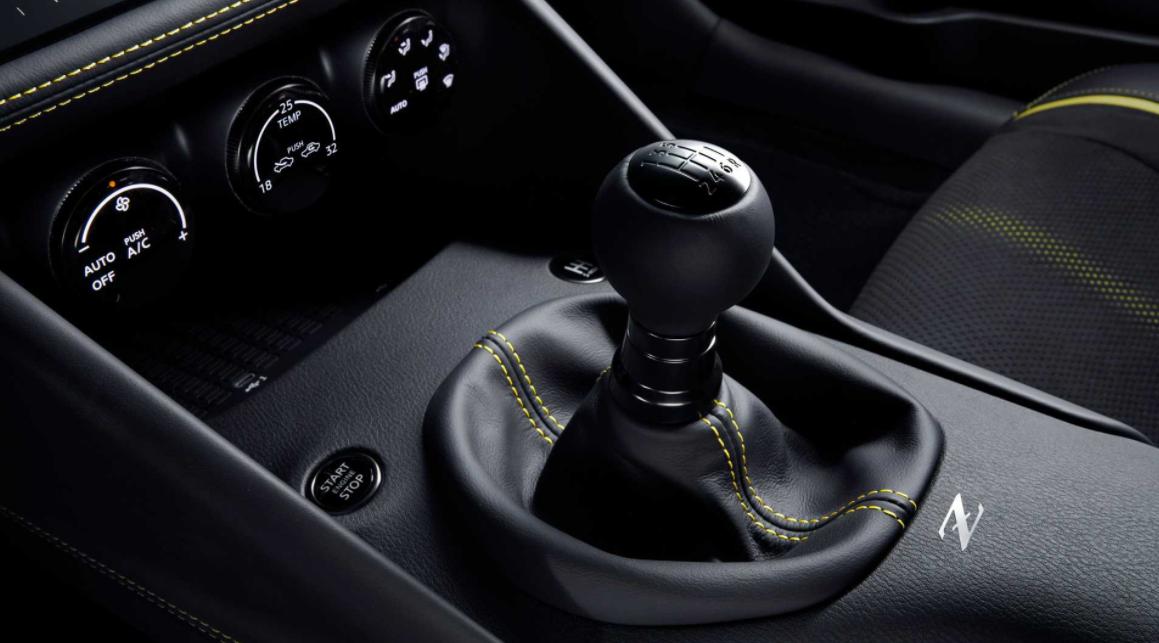 2023 Nissan 400Z Interior