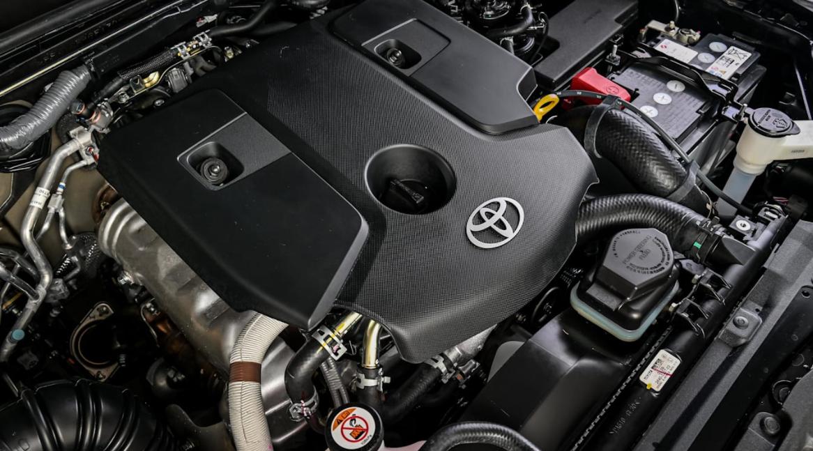 2023 Toyota Fortuner Engine