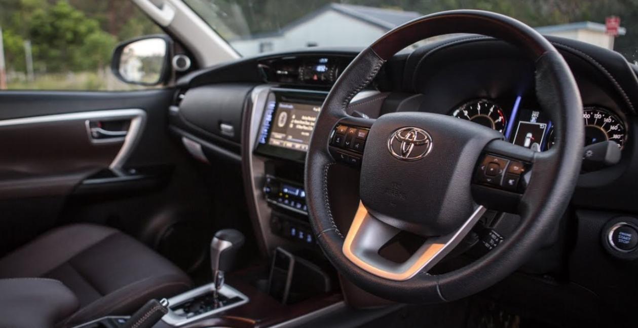 2023 Toyota Fortuner Interior