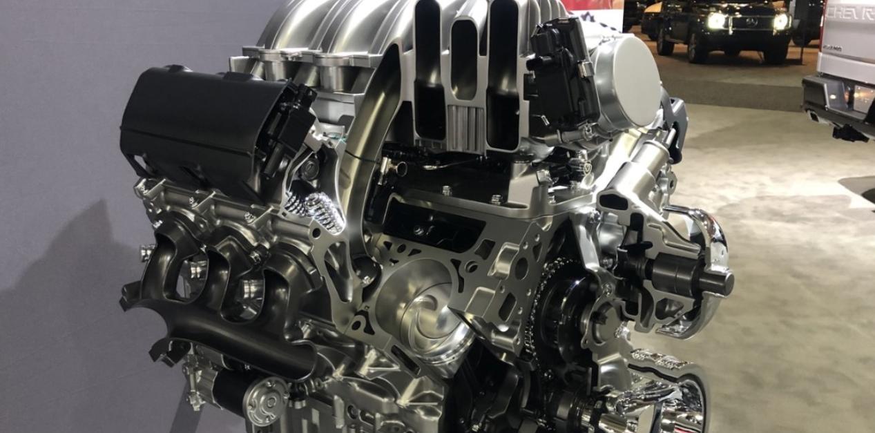 2023 Chevy Silverado Engine