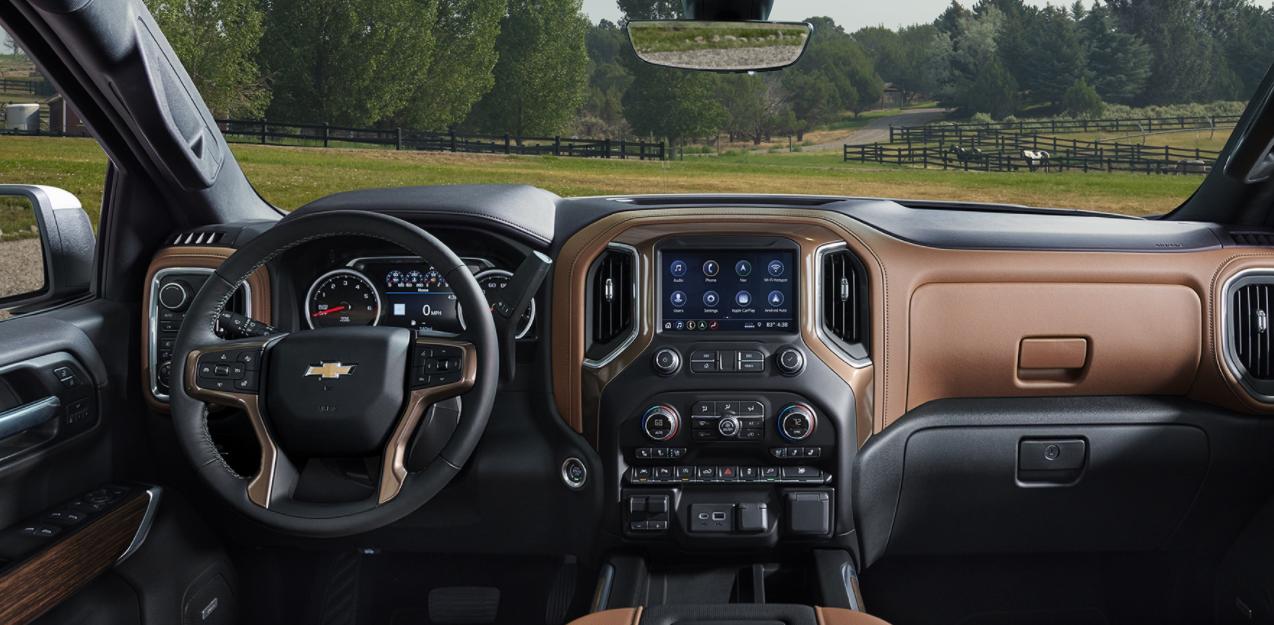 2023 Chevy Silverado Interior