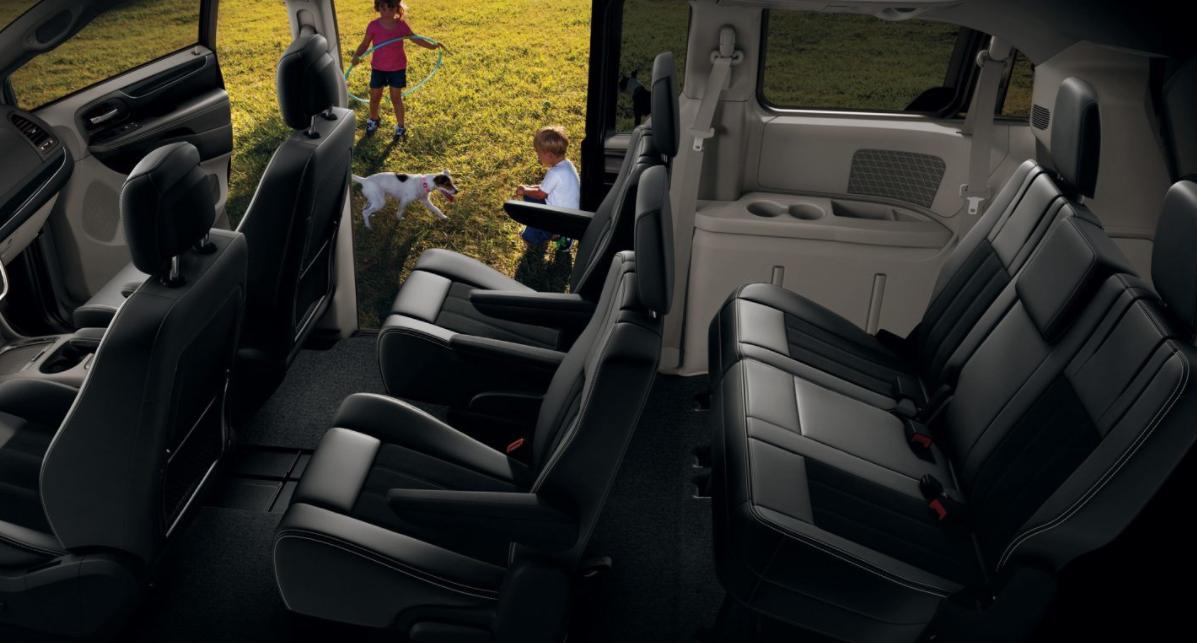2023 Dodge Grand Caravan Interior