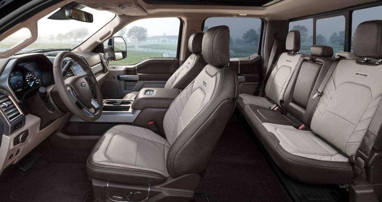 2023 F250 Interior