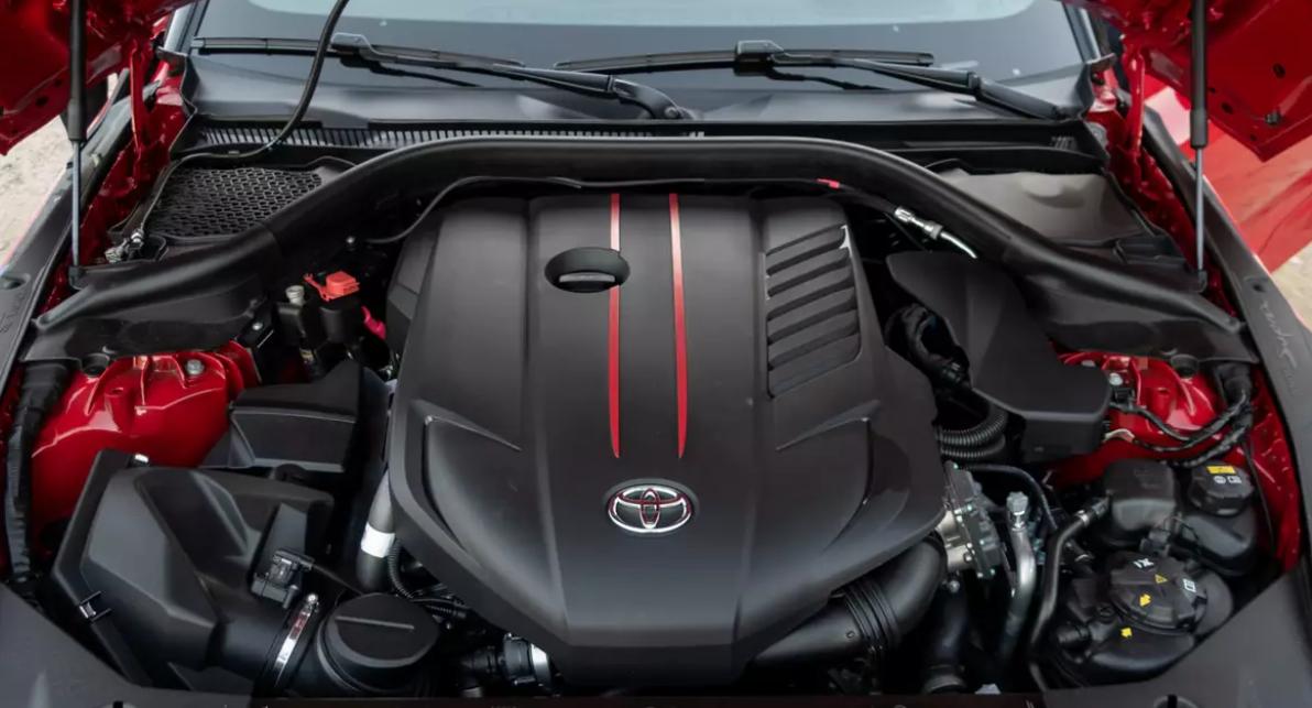 2023 Toyota Supra Engine