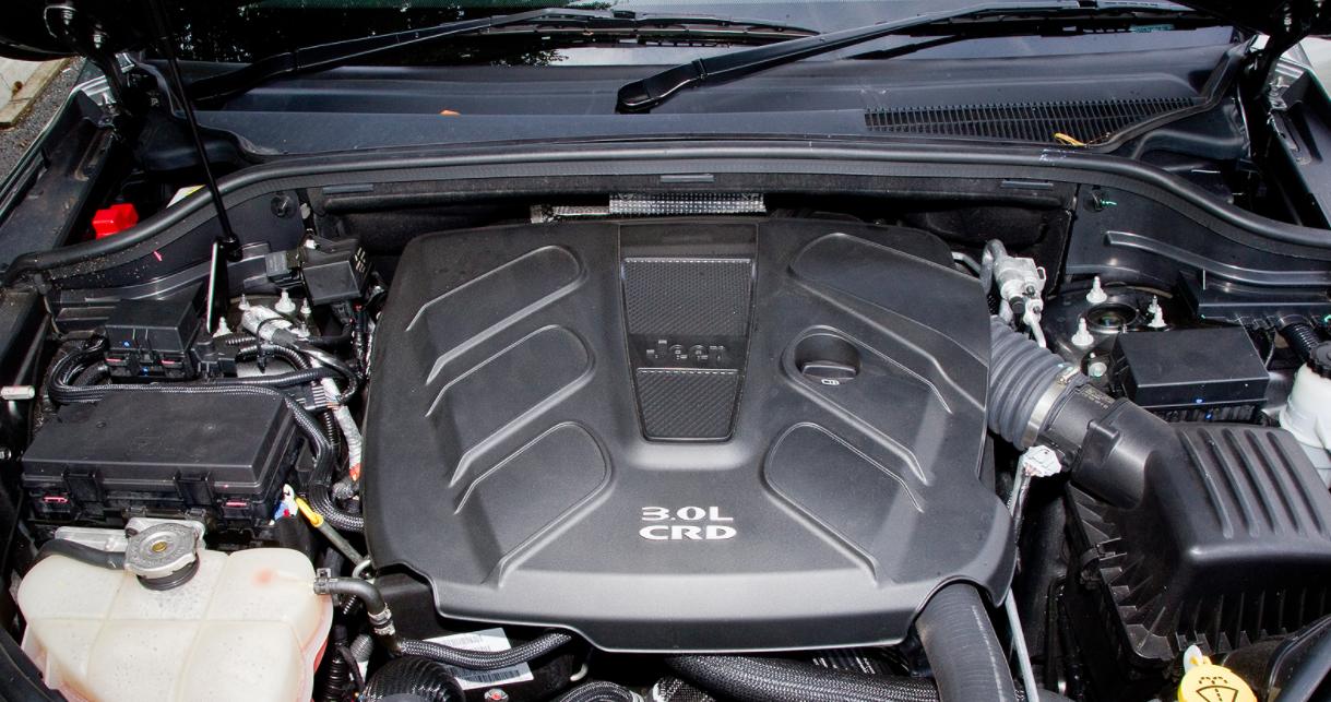 2023 Jeep Cherokee Engine