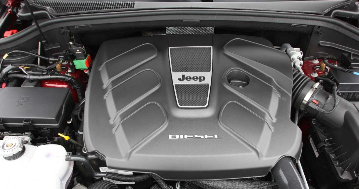 2023 Jeep Grand Cherokee Engine