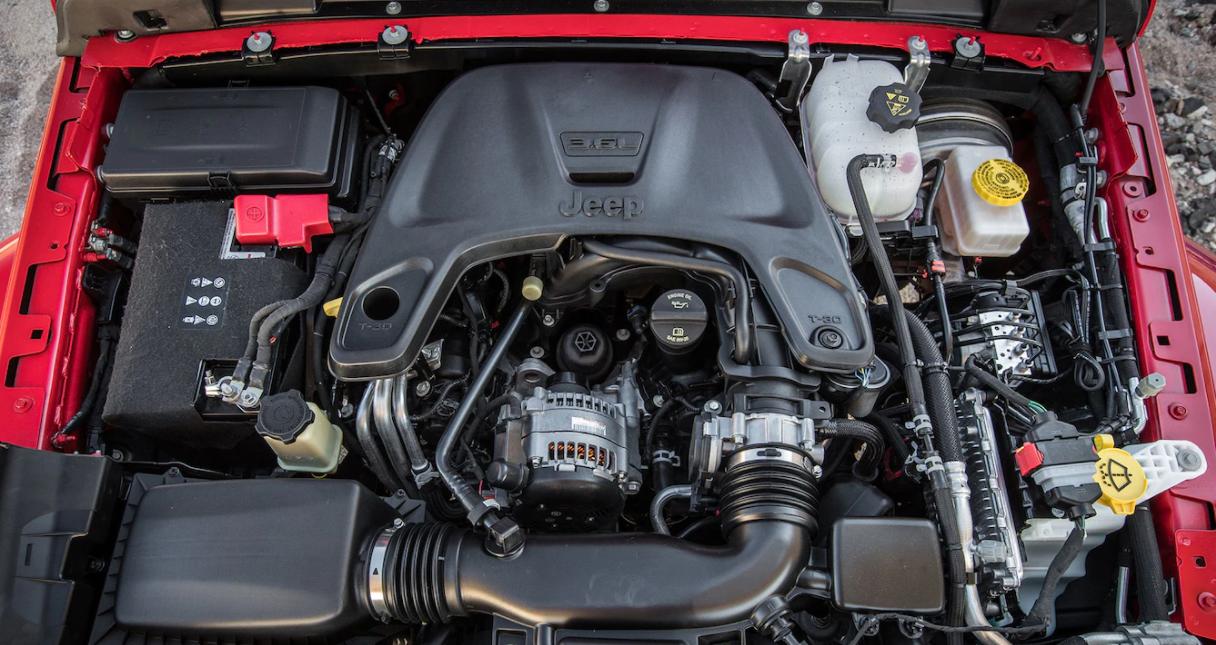 2023 Jeep Wrangler Engine