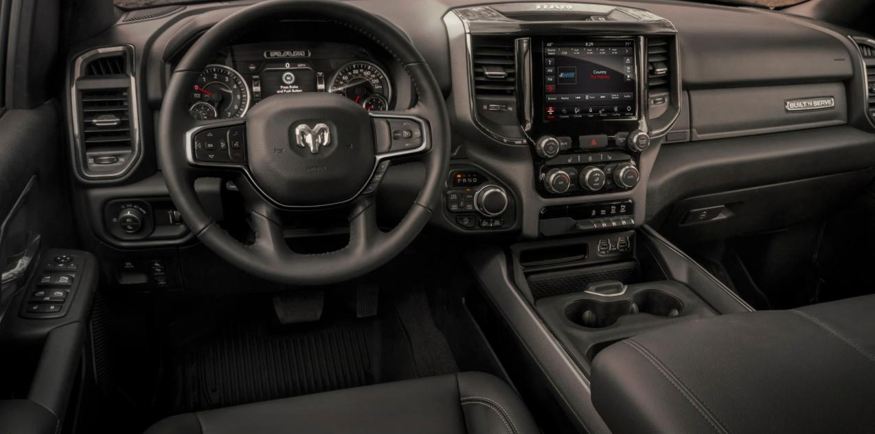 2023 Ram 1500 Interior