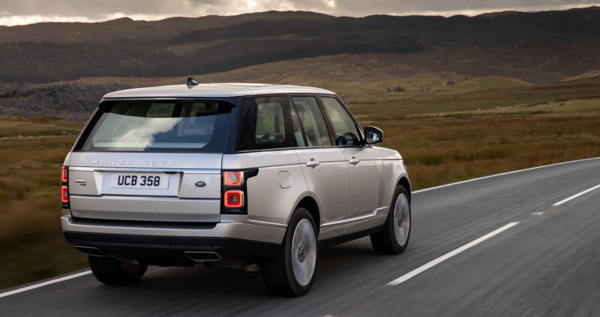 2023 Range Rover Engine
