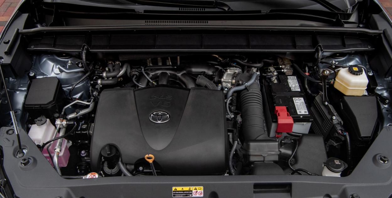 2023 Toyota Highlander Engine