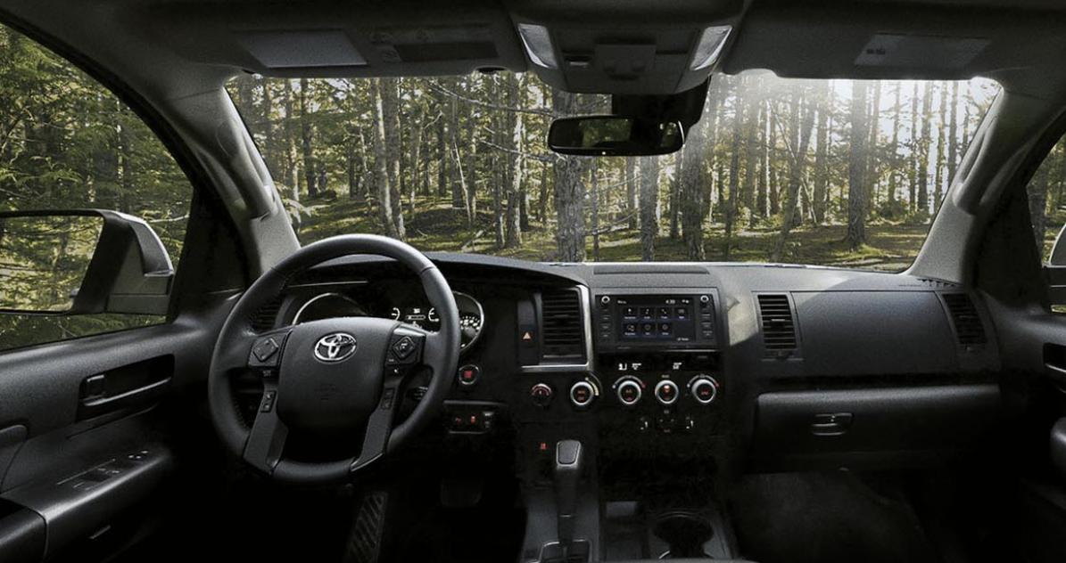 2023 Toyota Sequoia Interior