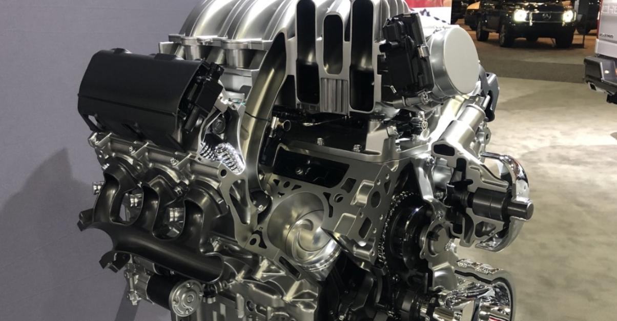 2023 Silverado Engine