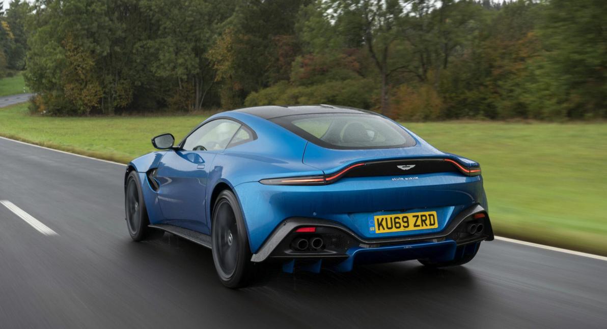 2023 Aston Martin Vantage Engine