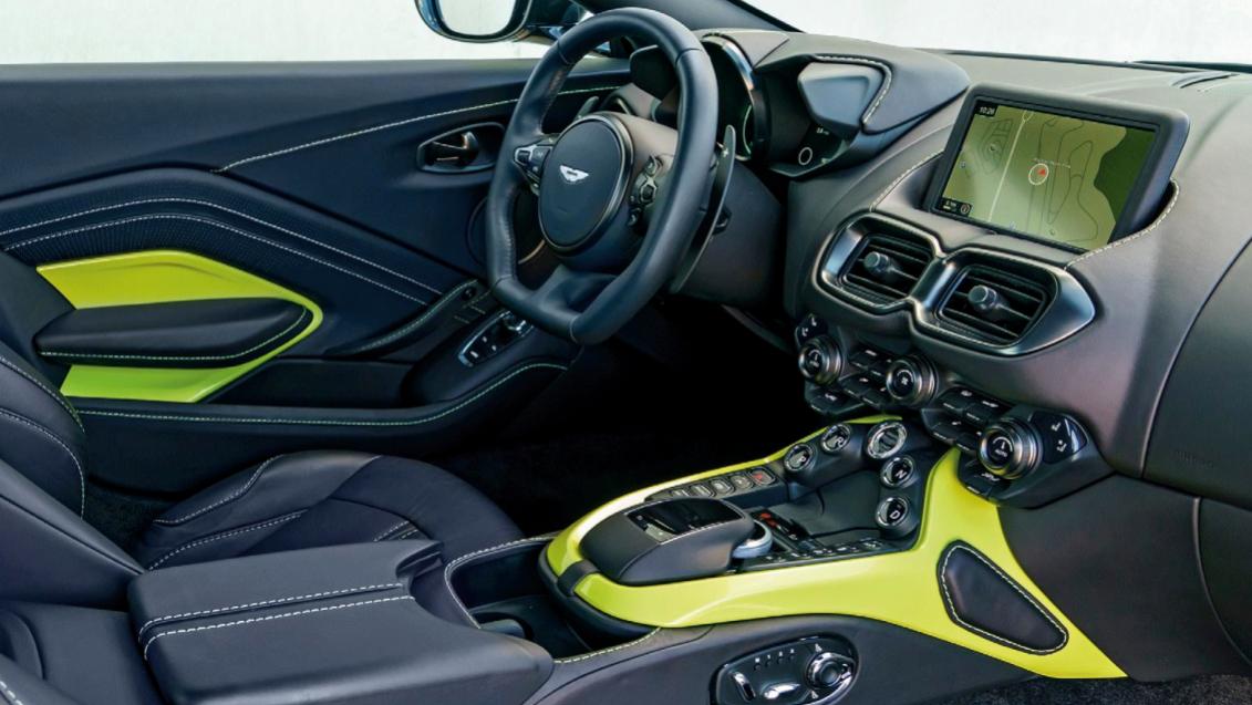 2023 Aston Martin Vantage Interior